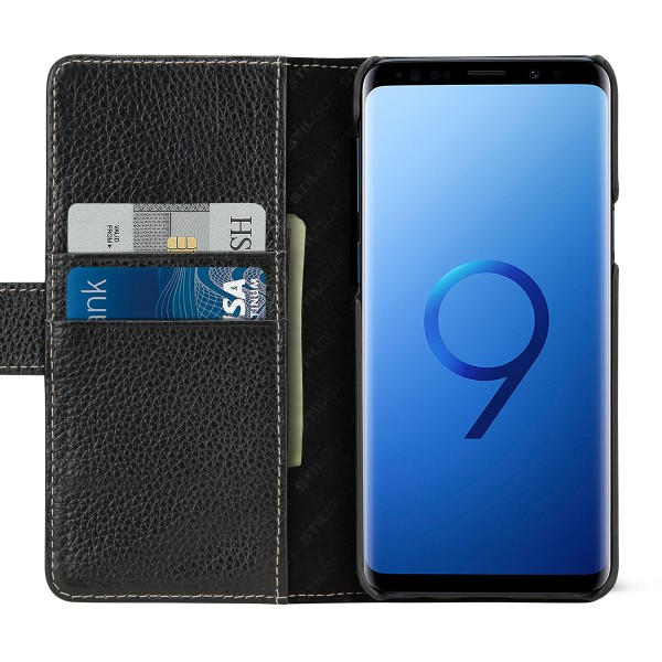 StilGut - Samsung Galaxy S9 Cover Talis with Card Holder