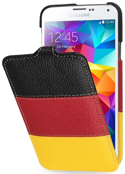 "StilGut - UltraSlim case ""German Edition"" for Samsung Galaxy S5"