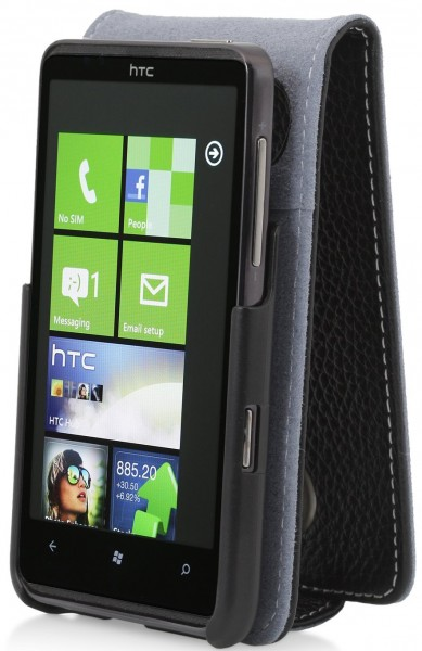 StilGut - Exclusive leather case for HTC HD 7