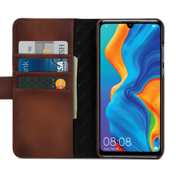 StilGut - Huawei P30 lite Cover Talis with Card Holder