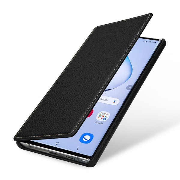 StilGut - Samsung Galaxy Note 10 Plus Cover Book Type without Clip