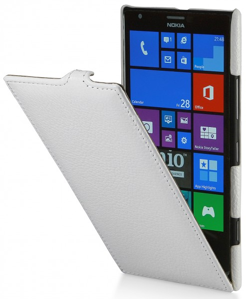 StilGut - UltraSlim Case in genuine leather for Nokia Lumia 1520