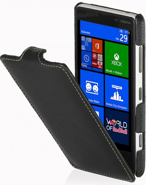 StilGut - UltrasSlim leather case for Nokia Lumia 820