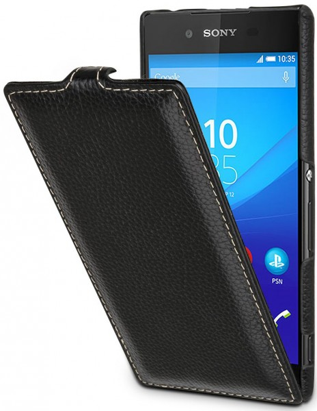 "StilGut - Sony Xperia Z3+ leather case ""UltraSlim"""