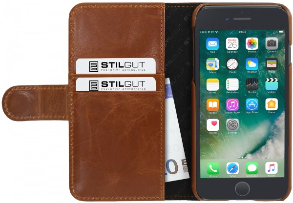 StilGut - iPhone 7 Plus cover Talis with card holder
