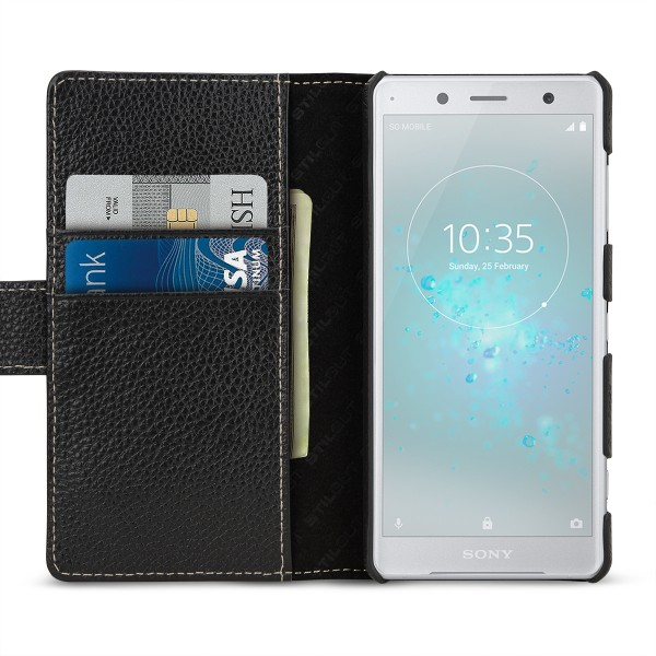 StilGut - Sony Xperia XZ2 Compact Cover Talis with Card Holder