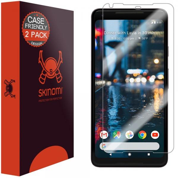 quite nice 6f514 045f9 Skinomi - Google Pixel 2 XL Screen Protector (set of 2)