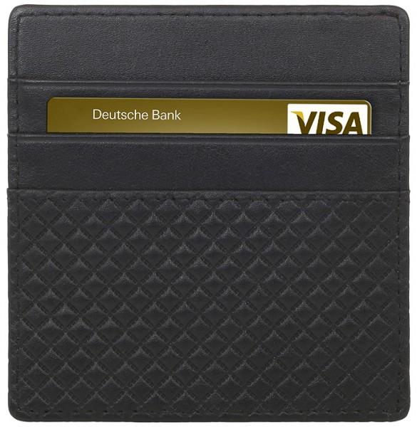 StilGut - Slim Wallet aus Leder mit Reißverschluss
