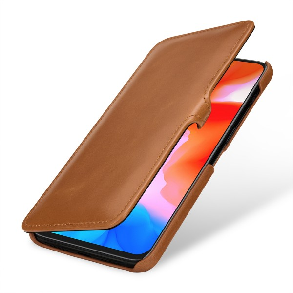 StilGut - OnePlus 6T Cover Book Type with Clip