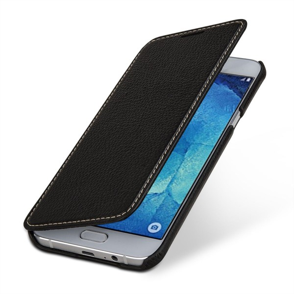 "StilGut - Galaxy A8 (2015) leather case ""Book Type"" without clip"