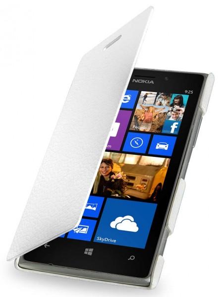 "StilGut - Leather case ""Book Type"" for Nokia Lumia 925"