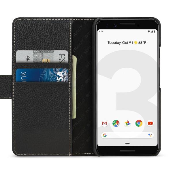 StilGut - Google Pixel 3 Cover Talis with Card Holder