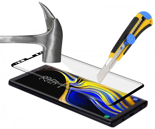 StilGut - Samsung Galaxy Note 9 Tempered Glass 3D Full Cover