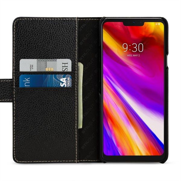 StilGut - LG G7 ThinQ Cover Talis with Card Holder