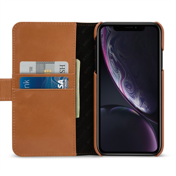 StilGut - iPhone XR Cover Talis with Card Holder