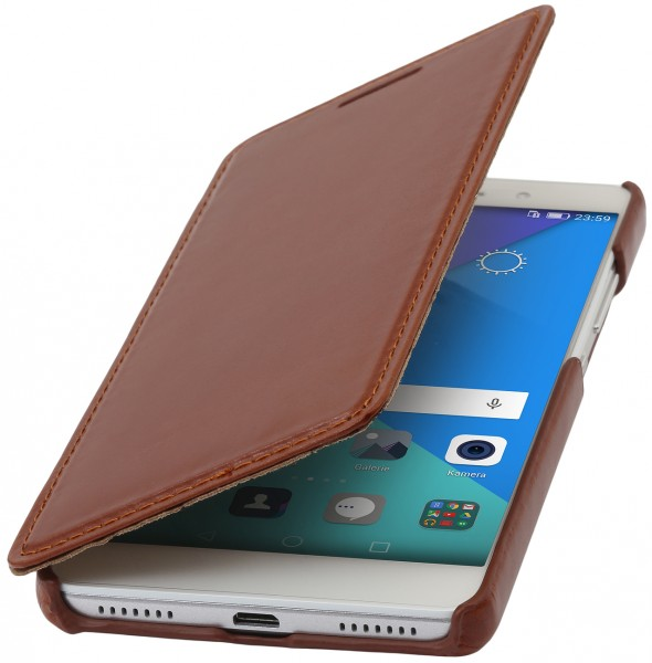 "StilGut - Honor 7 leather case ""Book Type"" without clip"