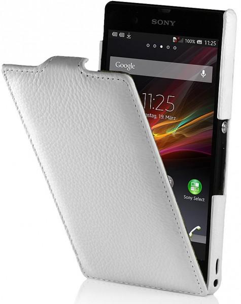 StilGut - UltraSlim leather case for Sony Xperia Z
