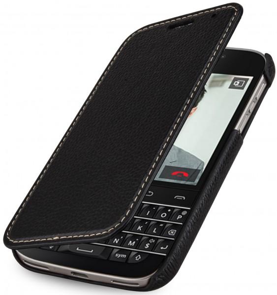 """StilGut - BlackBerry Classic Q20 leather case """"Book Type"""" without clip"""