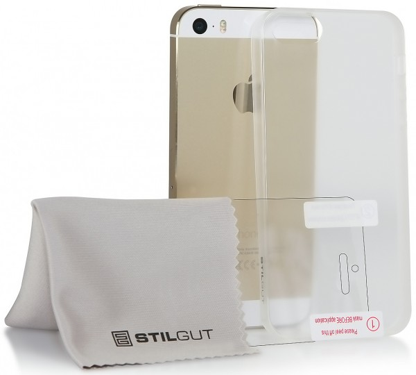 StilGut - Ghost,transparent cover for Apple iPhone 5 & 5s- 2nd choice!