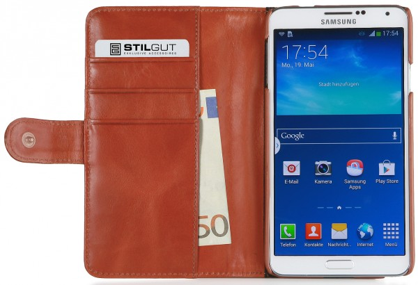StilGut - UltraSlim Case in donegal-tweed for Samsung Galaxy Note 3