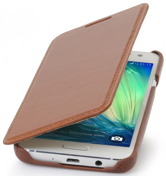"StilGut - Galaxy A3 leather case ""Book Type"" without clip"