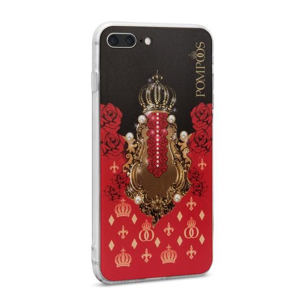 POMPÖÖS by StilGut - iPhone 8 Plus Cover Crown - Design by HARALD GLÖÖCKLER