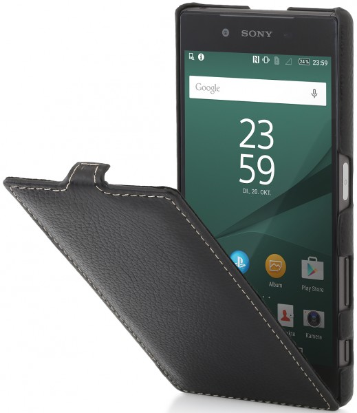 StilGut - Xperia Z5 leather case UltraSlim