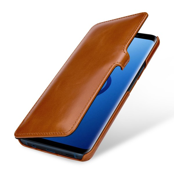 StilGut - Samsung Galaxy S9+ Cover Book Type with Clip