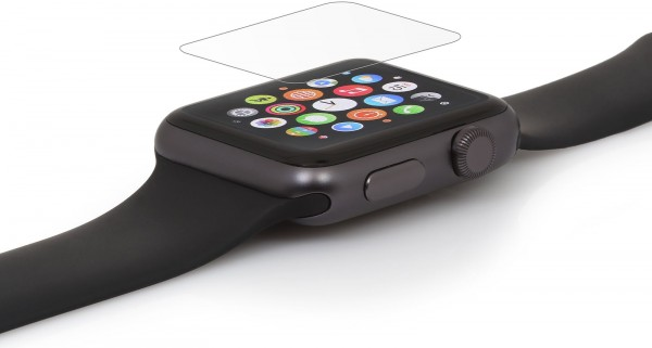StilGut - Tempered glass screen protector for Watch 42 mm