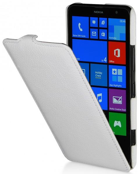 StilGut - UltraSlim Case in leather for Nokia Lumia 1320