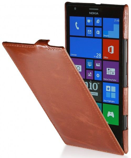 StilGut - UltraSlim Case in genuine leather for Nokia Lumia 1520