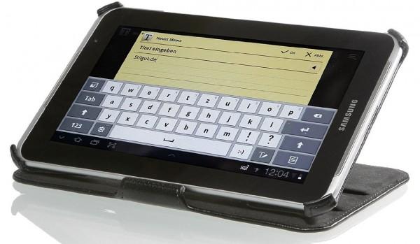 StilGut - UltraSlim Case for Galaxy Tab (V2) 2 7.0 (P3100) in black