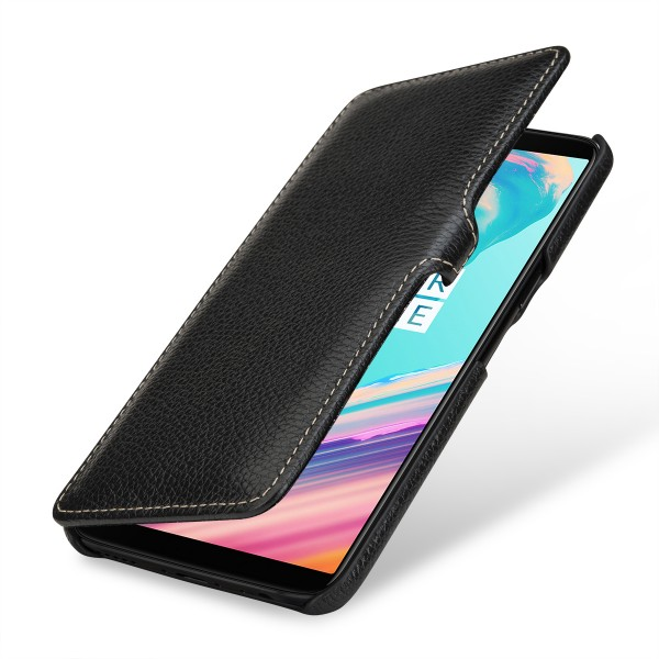 StilGut - OnePlus 5T Cover Book Type with Clip