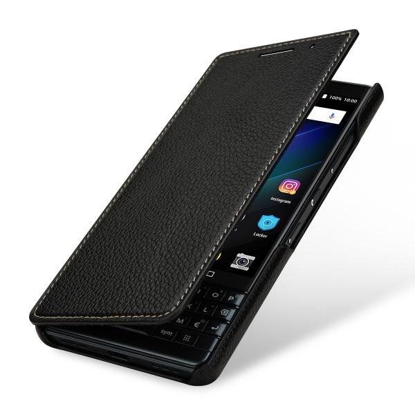 StilGut - BlackBerry KEY2 LE Case Book Type without Clip