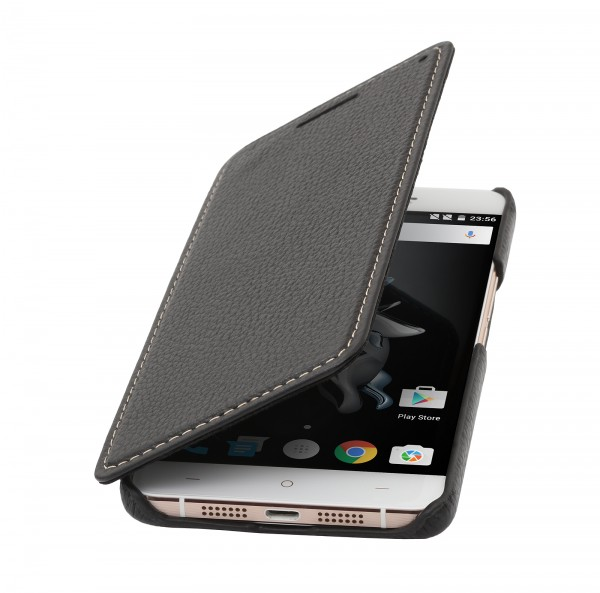 StilGut - OnePlus X cover Book Type in leather without clip