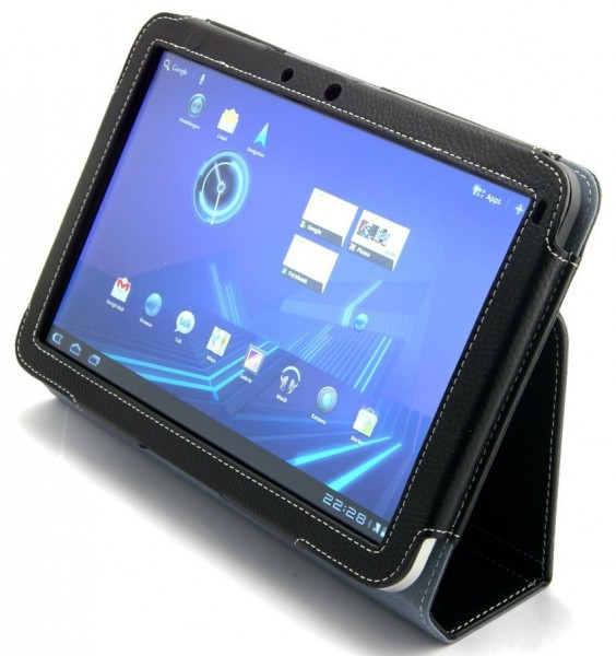 StilGut - Scarsela luxus leather case for Motorola Xoom Tablet