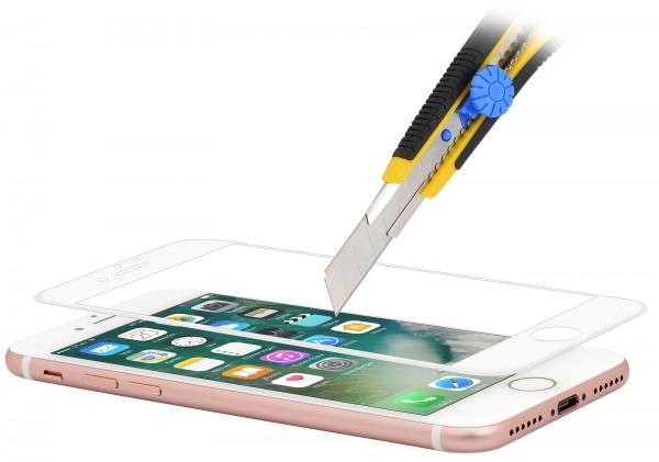 StilGut - iPhone 7 Tempered Glass 3D curved (white)