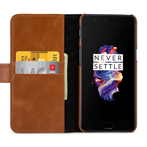 StilGut - OnePlus 5 Cover Talis with Card Holder