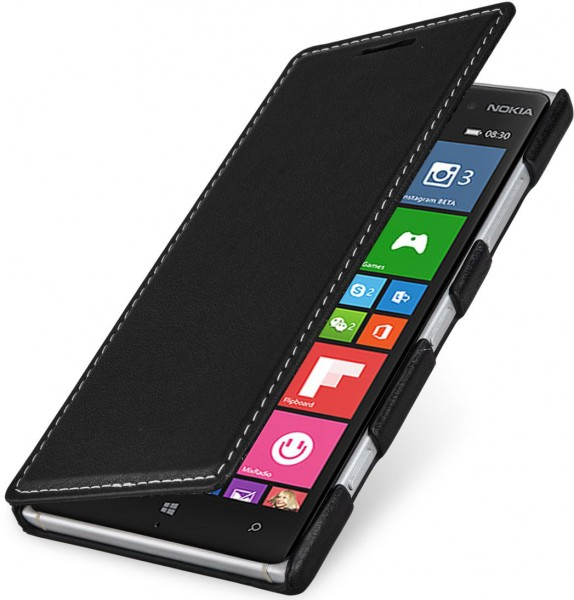 competitive price fd5bd 8b569 StilGut - Nokia Lumia 830 leather case,