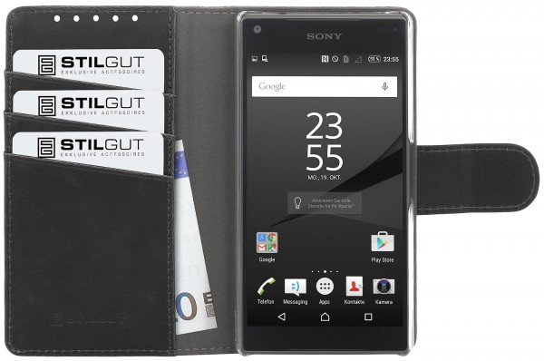 StilGut - Xperia Z5 Compact cover Talis with stand function