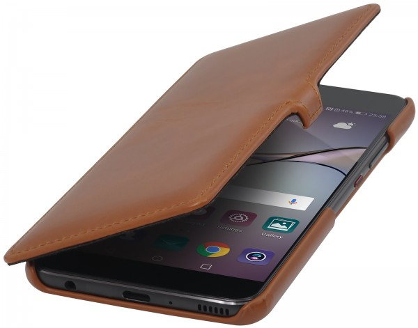 StilGut - Huawei P10 Plus Cover Book Type with Clip