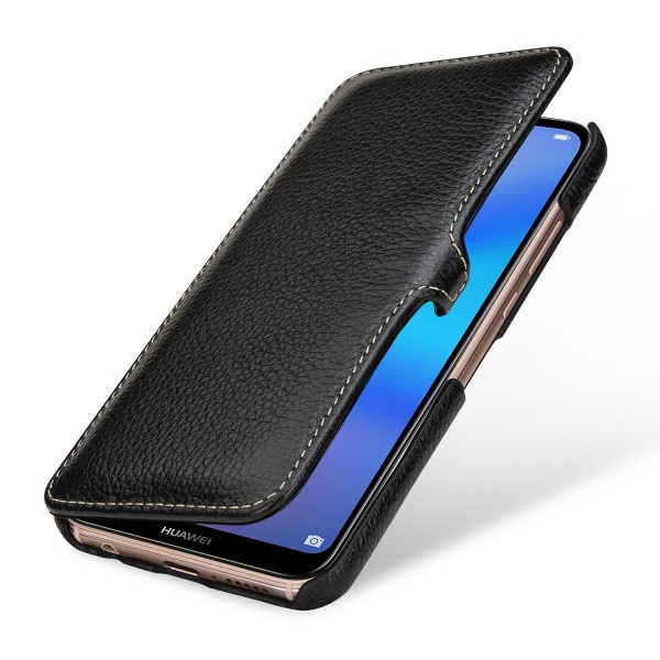 StilGut - Huawei P20 lite Cover Book Type with Clip