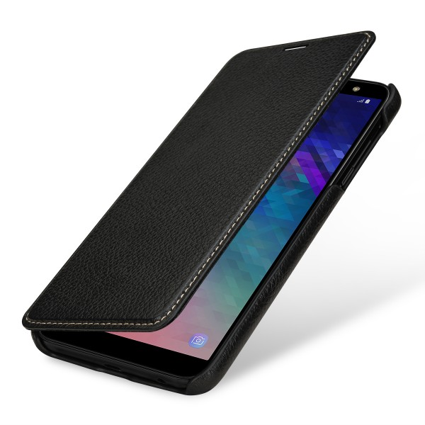 StilGut - Samsung Galaxy A6 Plus (2018) Cover Book Type without Clip