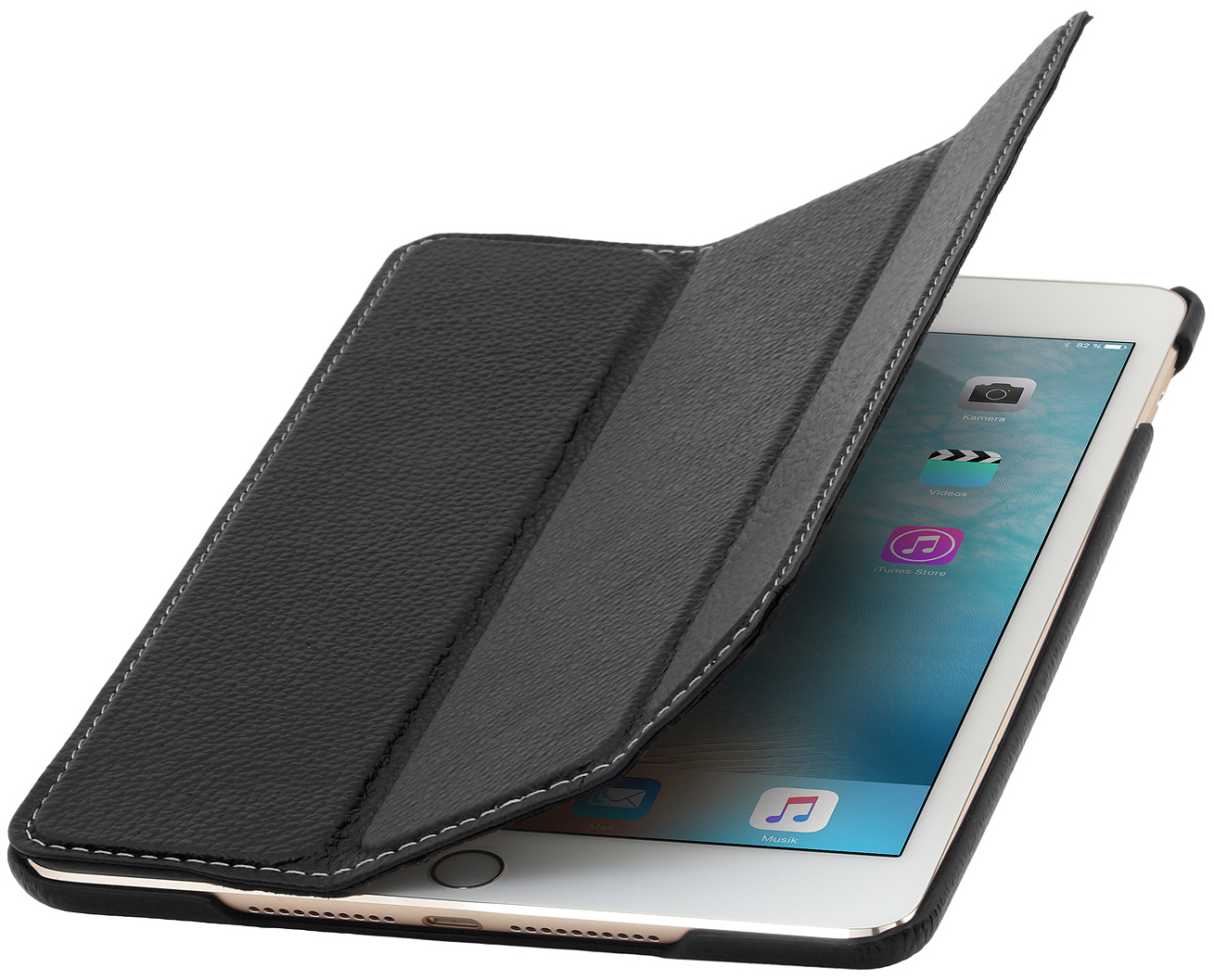 ipad mini 4 couverture case made out of leather stilgut. Black Bedroom Furniture Sets. Home Design Ideas