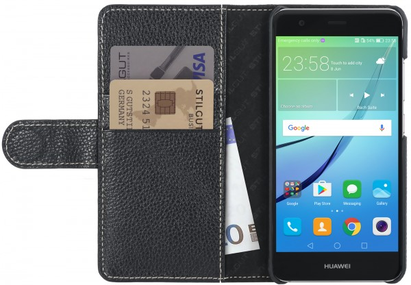 StilGut - Huawei nova Cover Talis with Card Holder