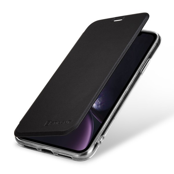 StilGut - iPhone XR Book Type NFC/RFID Blocking Case