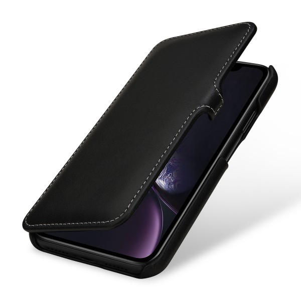 StilGut - iPhone XR Cover Book Type with Clip