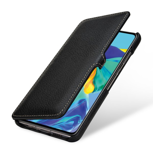 StilGut - Huawei P30 Cover Book Type with Clip