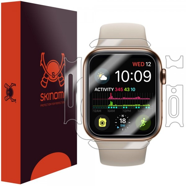 Skinomi - Apple Watch Series 5 (40 mm) Screen Protector Full Body