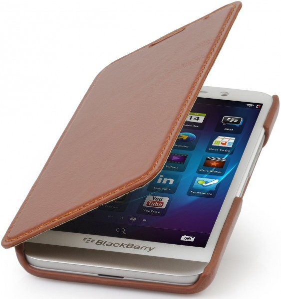 "StilGut - BlackBerry Z30 case ""Book Type"" without clip"